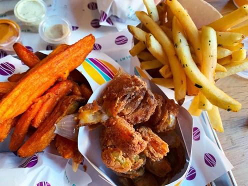 Side Snacks at PLNT Burger