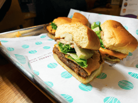 Vegan Burger @ PLNT Burger