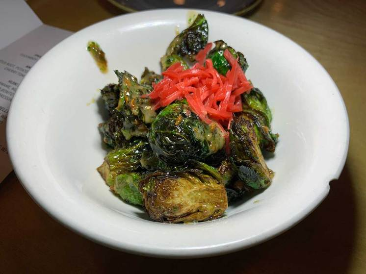 Fried Brussels Sprouts @ Haikan