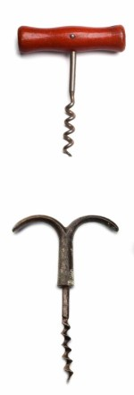 corkscrew with worm