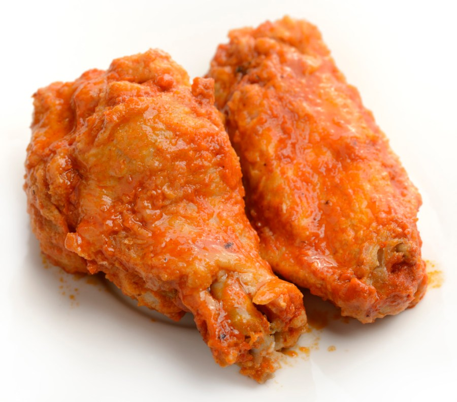 Buffalo Chicken Wings ,Close Up