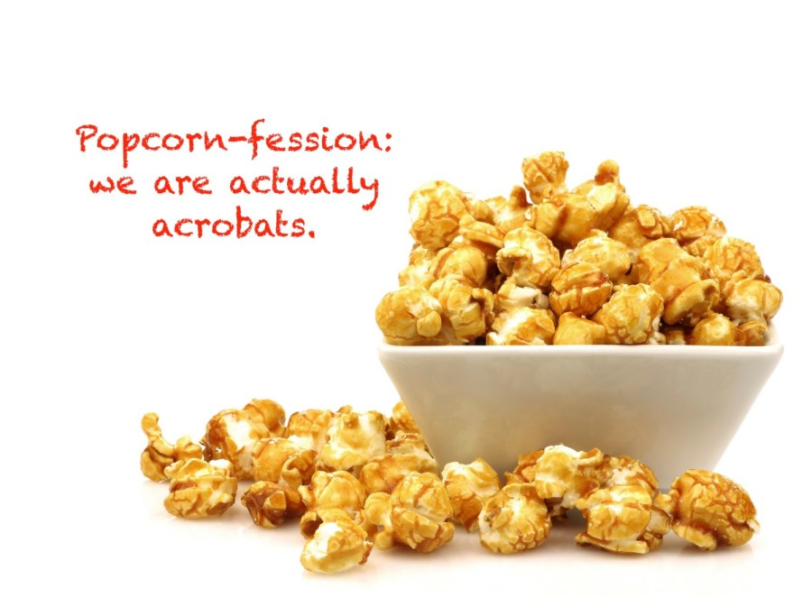 popcorn - why they pop and hop