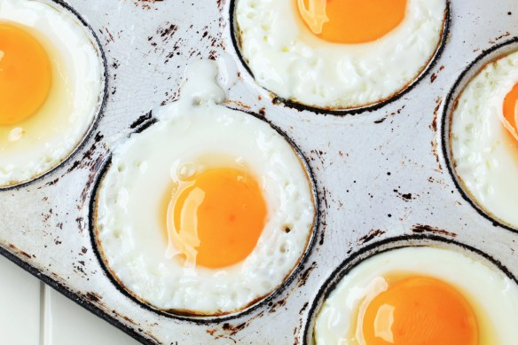 egg white - transparent and opaque - Fried sunny side up eggs