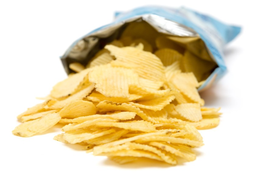 Packaging design of potato chips bags helps to cut down oxidation