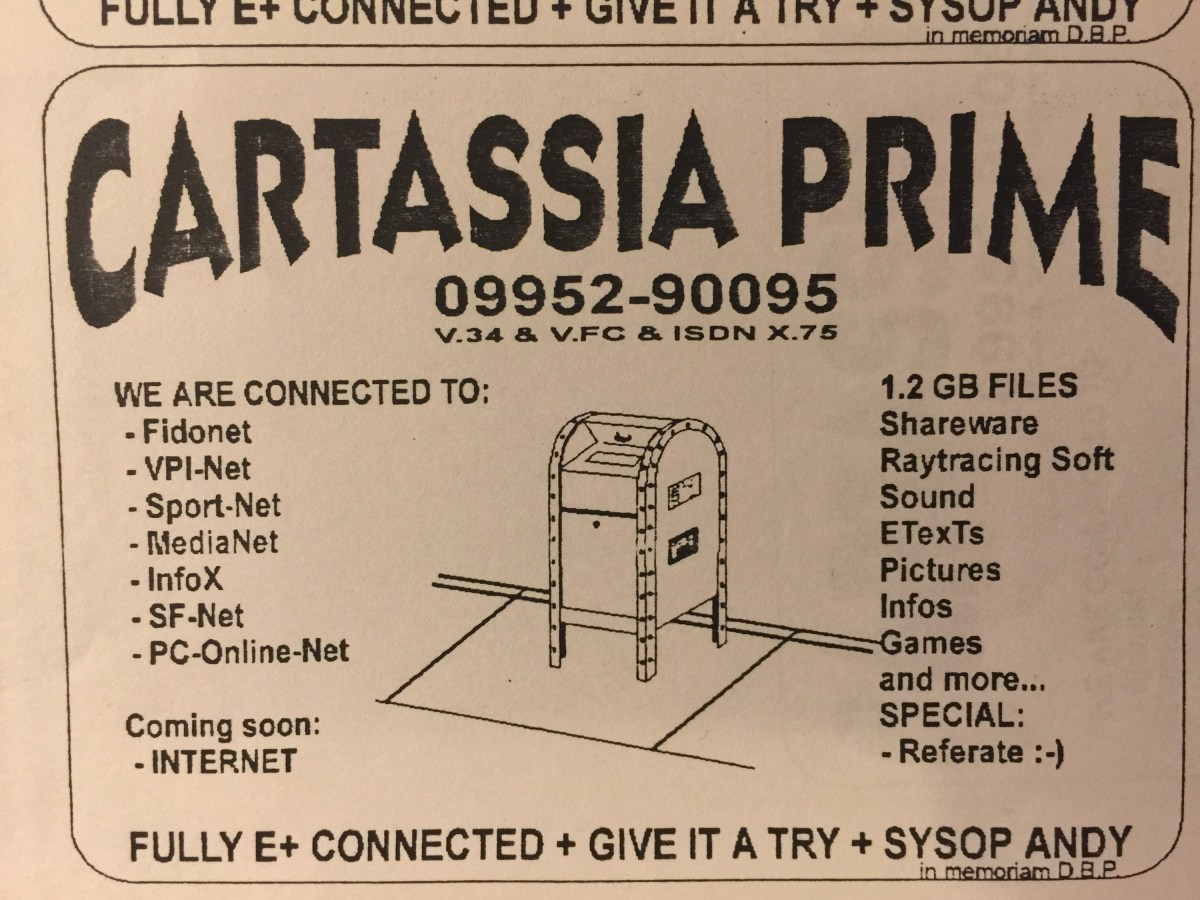 "#BBS Ad for Mailbox ""Cartassia Prime"""