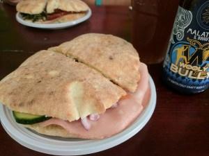 Worst picture of the BEST sandwich, La Prelibatezza G & C, Lecce