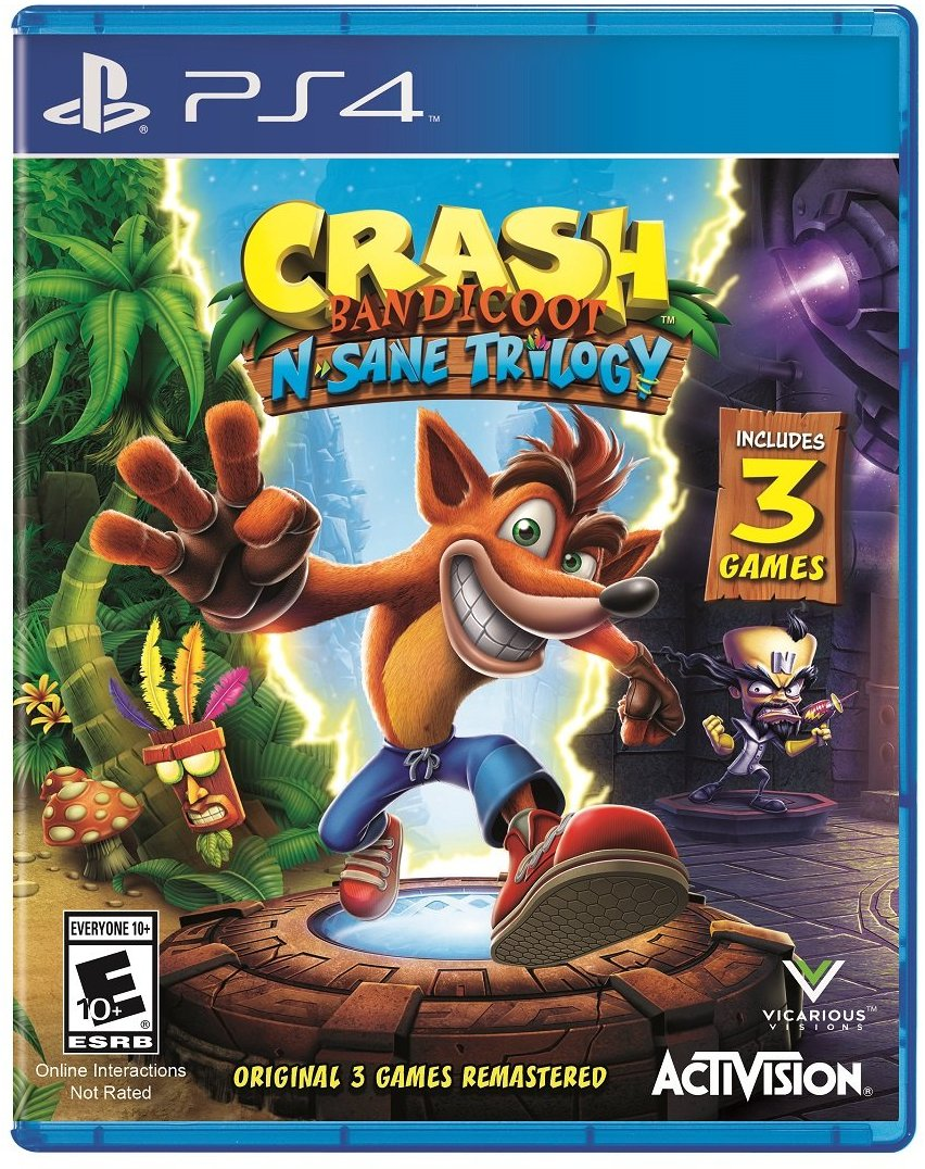 No More Lines - Store - Crash Bandicoot N  Sane Trilogy