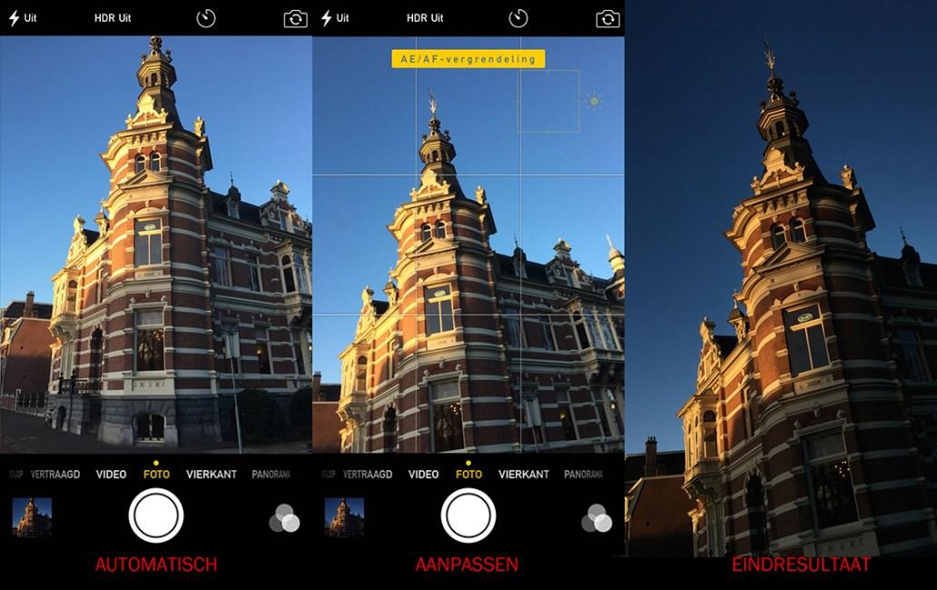 screenshot iphone photo app