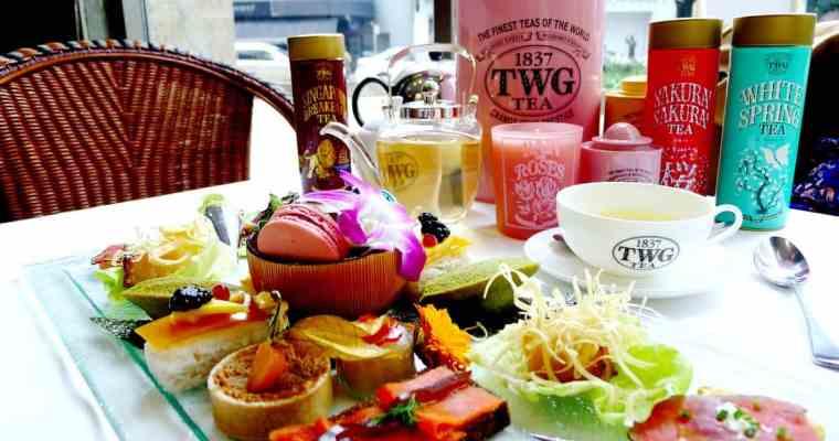 The Urban Tea Merchant Vancouver (Downtown), Spring Start with Sakura Afternoon Tea