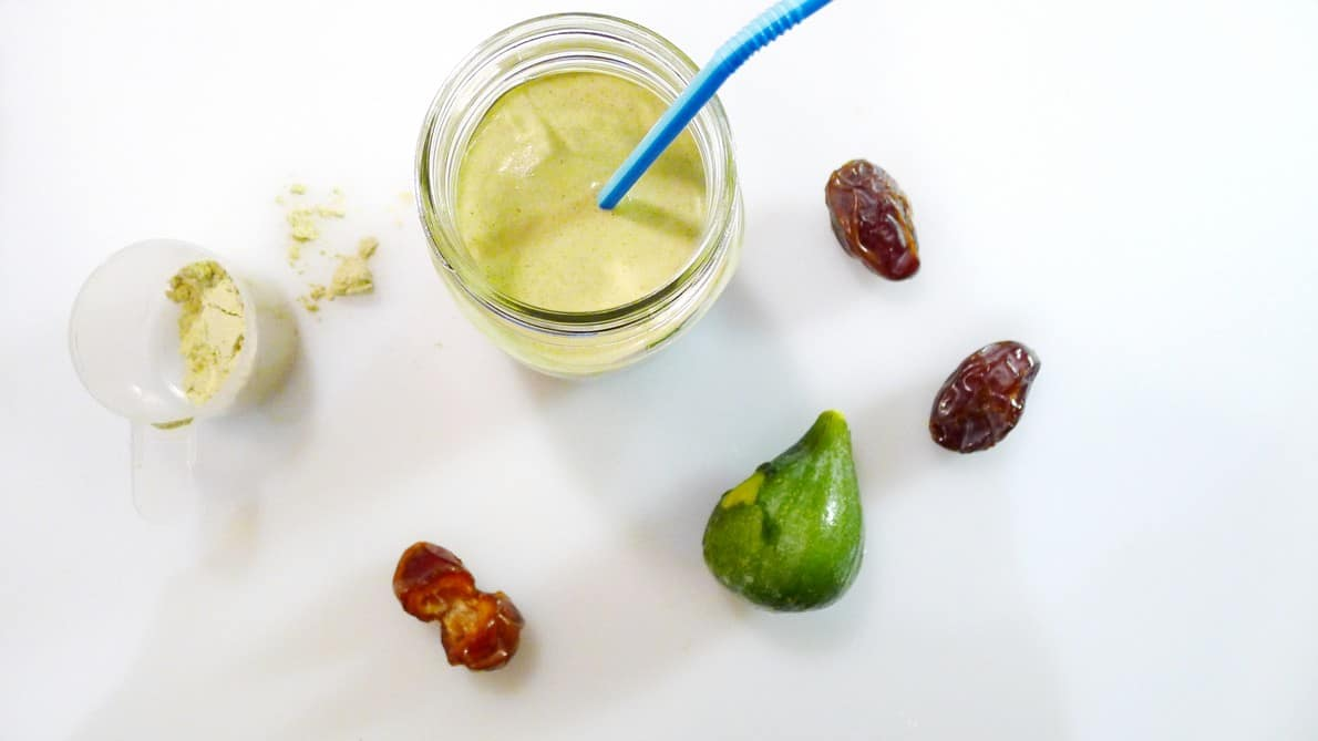 Fig & Date Smoothie Recipe | Vega One All In One Nutritional Shakes