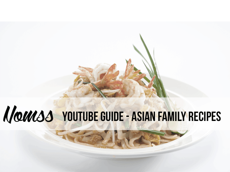 Youtube Chinese Guide asian cooking youtube channels nomss instanomss