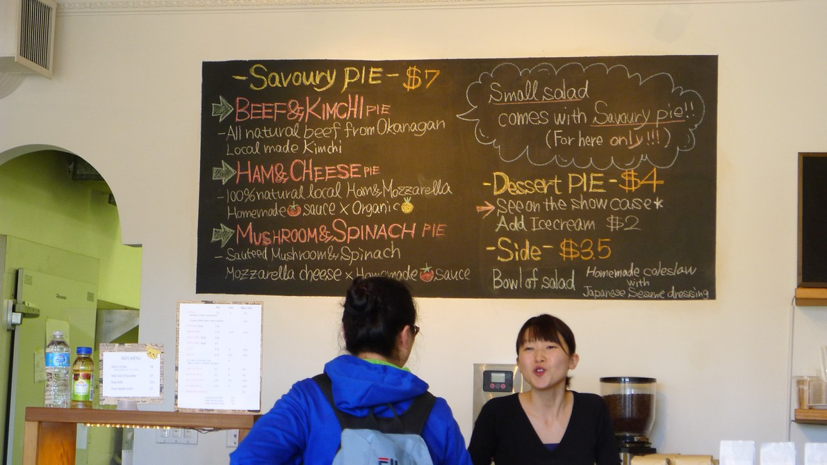 Renfrew Cafe Vancouver Hand made Pies and Specialty Coffee instanomss nomss