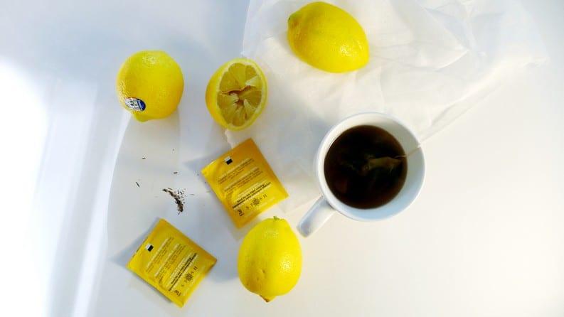 STASH TEA Meyer Lemon Herbal Tea   Caffeine Free Herbal Tea