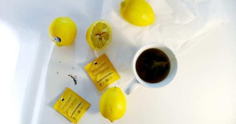 STASH TEA Meyer Lemon Herbal Tea | Caffeine Free Herbal Tea