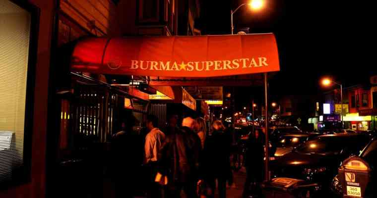 Burma Superstar San Francisco | Burmese Tea Leaf Salad and Chili Lamb