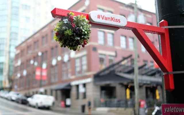 Catch the Kissmas Spirit with the Yaletown BIA   Christmas