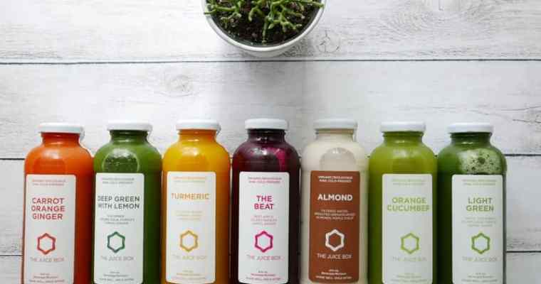The Juice Box Organic Cold Press Juice | 3 Day Juice Cleanse
