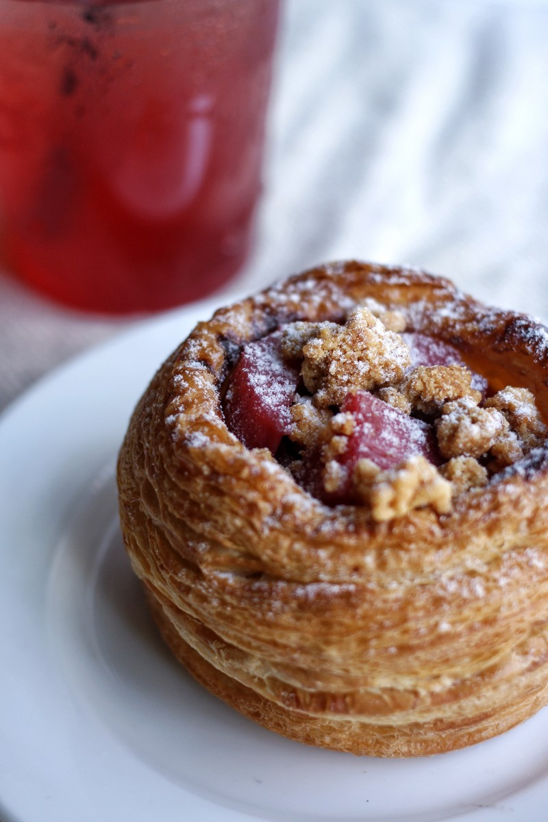 Beaucoup Bakery Spring Cresh Rhubarb Vancouver French Pastries Instanomss Nomss Food Photography Healthy Travel Lifestyle Canada