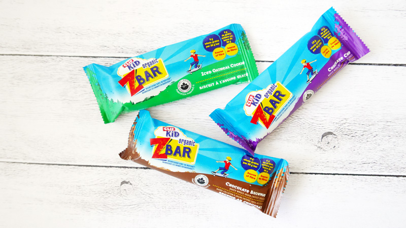 Clif Kid Organic Zbar baked whole grain energy bar Instanomss Nomss Delicious Food Photography Healthy Travel Lifestyle Canada