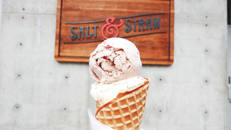 Salt and Straw Ice Cream Portland Oregon | Artisan Ice Creamery