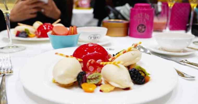 TWG Tea Vancouver | Valentines Day Menu