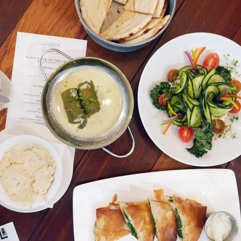 The Greek by Anatoli Vancouver | Happy Hour Yaletown