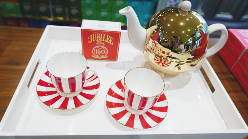 TWG Tea Jubliee Tea Set 150 Canada Nomss.com Delicious Food Photography Healthy Travel Lifestyle