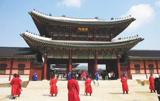 South Korea SEOUL   Day 1 Gyeongbokgung