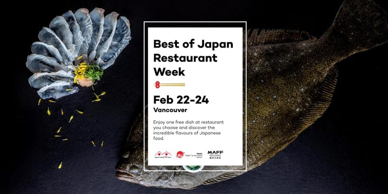 Best of Japan Restaurant Week February 22-24