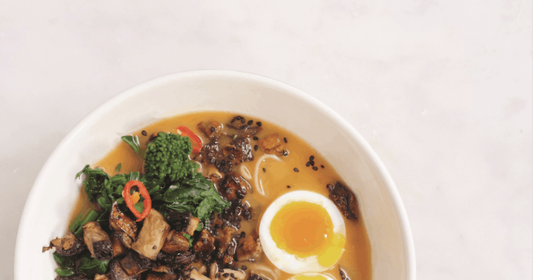 Just-Add-Water Miso, Sweet Potato, and Soba Ramen Recipe
