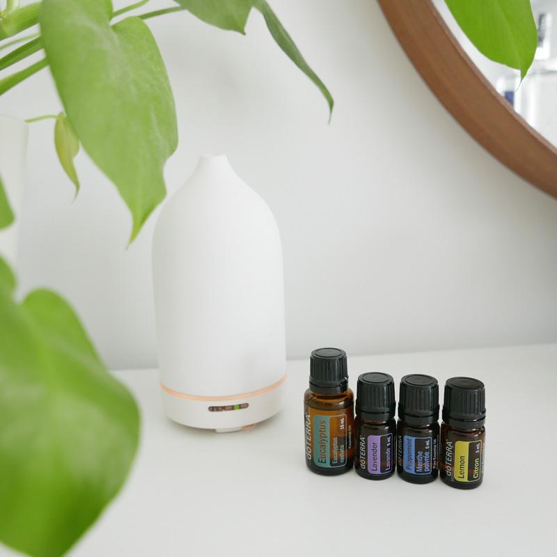 Essential Oil Blend for Seasonal Allergies & Hayfever Recipe