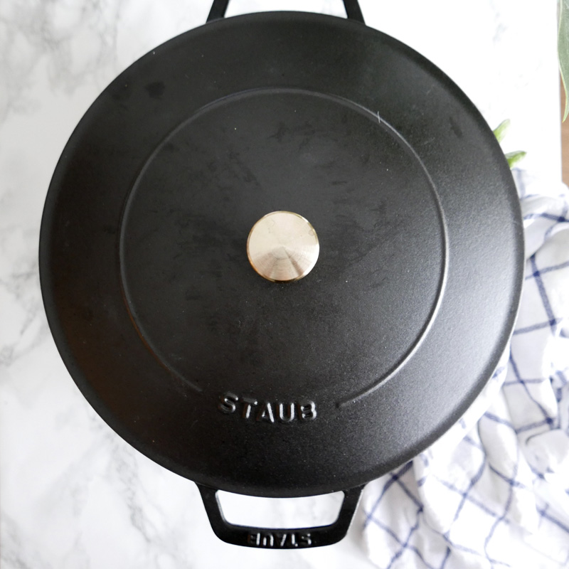 HOW TO MAKE THE BEST REVERSE SEAR STEAK RECIPE STAUB CAST IRON NOMSS.COM HEALTHY FOOD RECIPES #STEAK #REVERSESEAR #STAUB #CASTIRON #INSTANOMSS #RECIPES