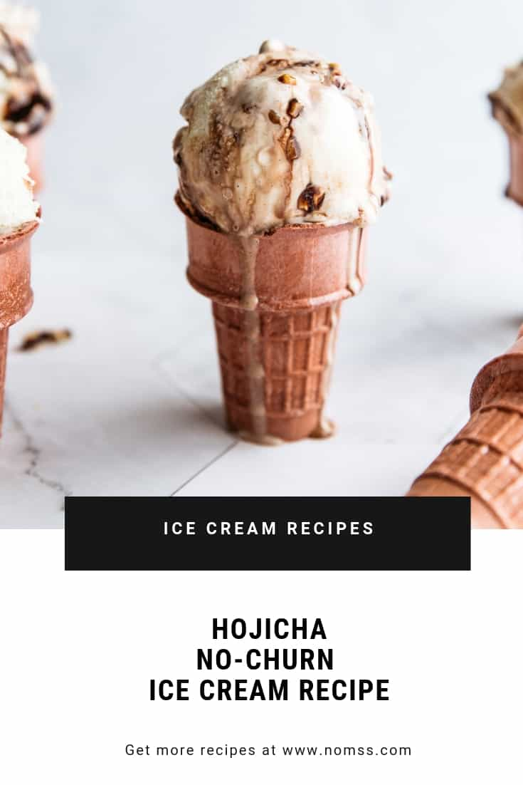 hojicha ice cream recipes
