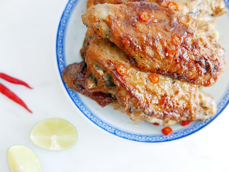 Vietnamese Spicy Caramel Turkey Wing Recipe