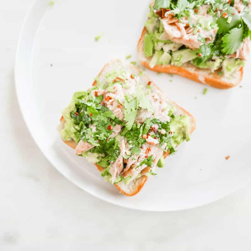 Sardine and Avocado Toast