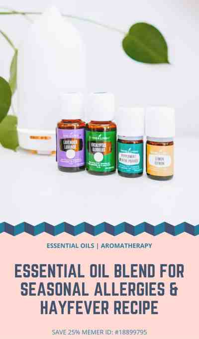 Essential Oil Blend for Seasonal Allergies & Hayfever Recipe