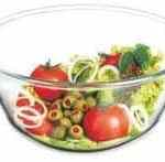 glass mixing bowl