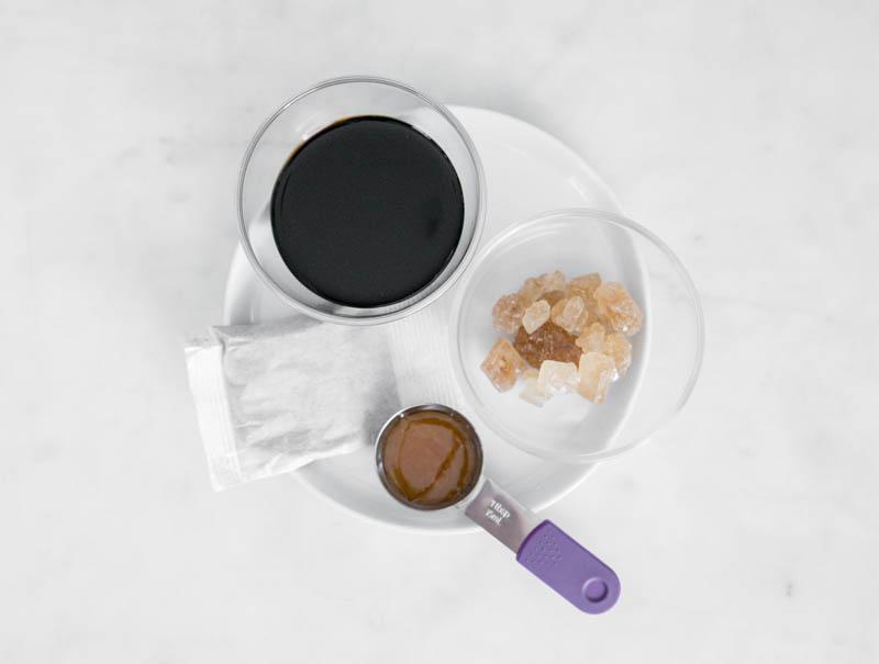 marinade: rock sugar, soy, soy pack