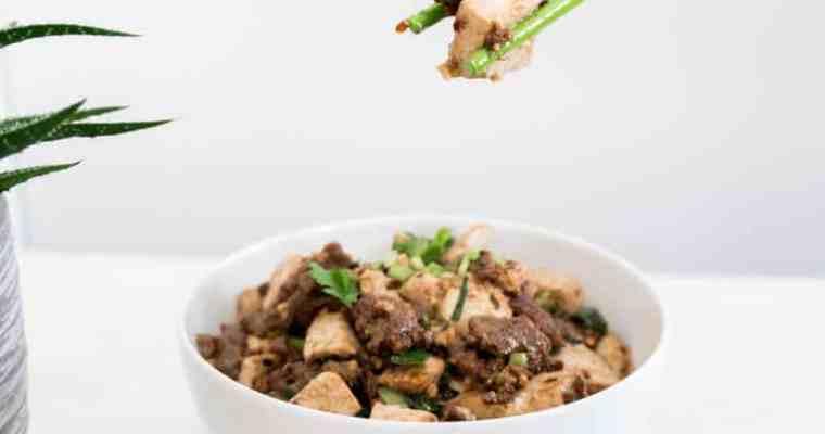 Szechuan Vegan Mapo Tofu 麻婆豆腐