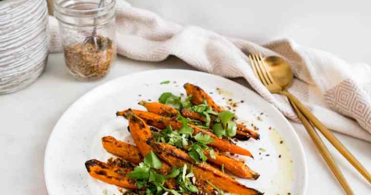 LEGENDARY 'DUKKAH' ROASTED CARROTS