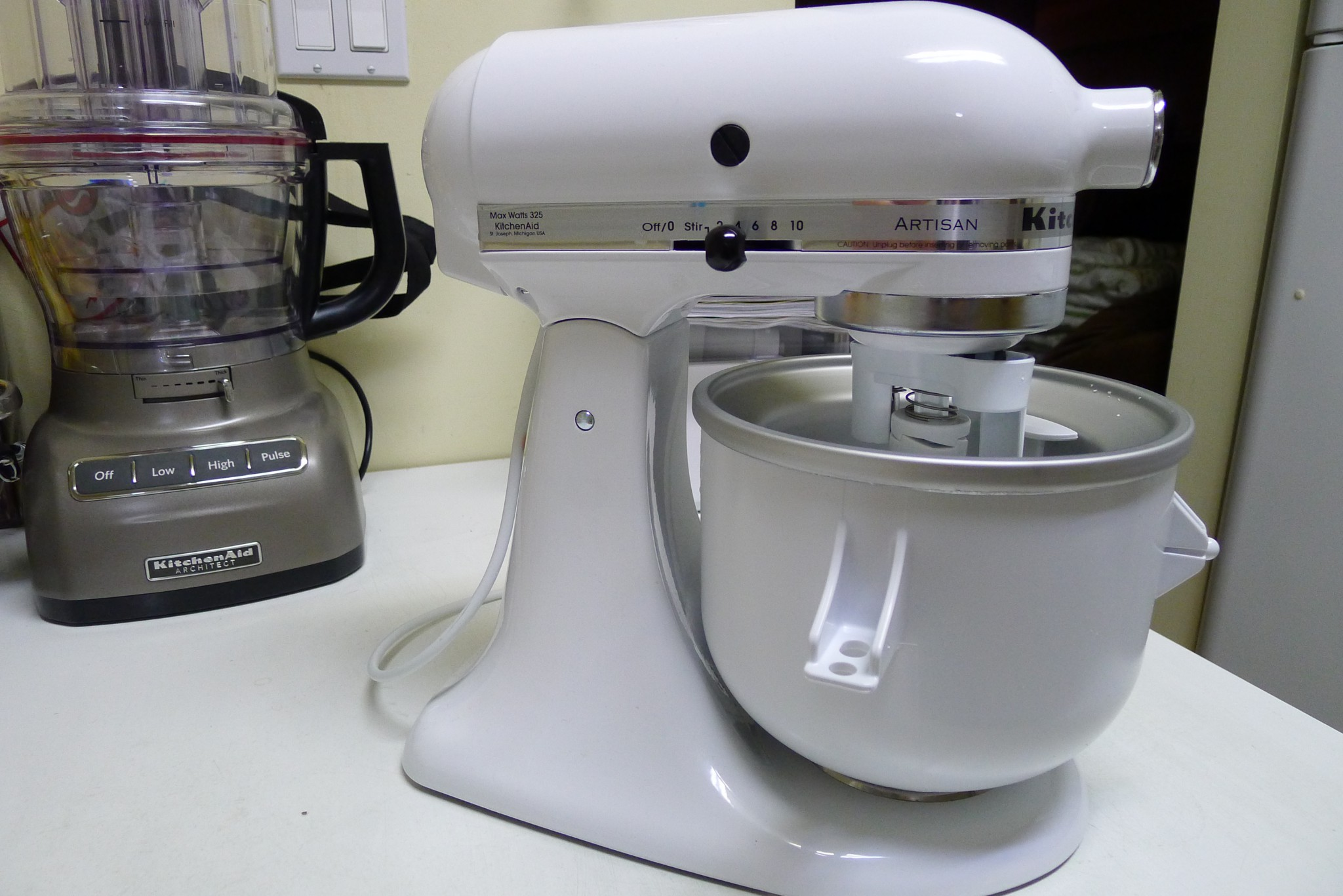 Homemade Ice Cream with KitchenAid Ice Cream Maker Attachment Review