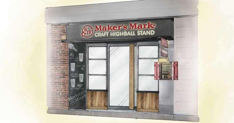 Maker's Mark CRAFT HIGHBALL STAND, Ginza