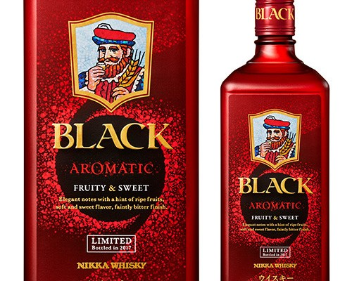 Nikka Black Aromatic coming November 21st