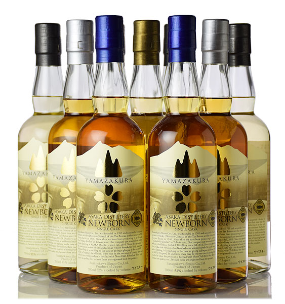 Sasanokawa Shuzo Asaka Distillery's first whiskies released