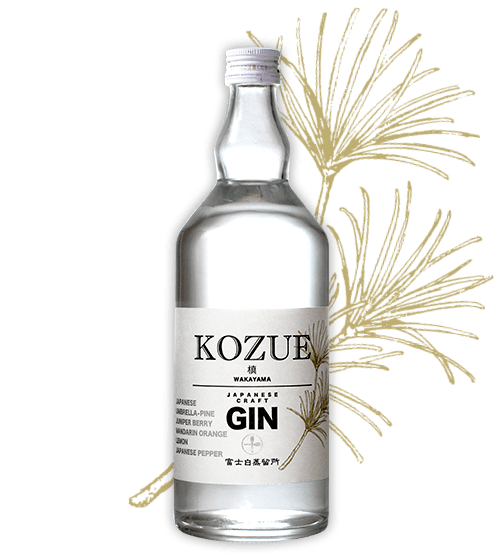 "Wakayama Craft Gin ""Kozue"" comes out of nowhere"