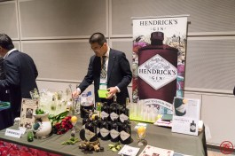 Hendrick's Gin booth