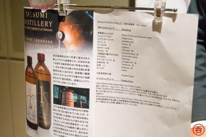 Tatsumi Distilley's craft gin botanicals