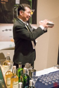 Hoshi-san of Ginza's Bar Hoshi serving up Gimlets with Berry Bros. & Rudd's No. 3