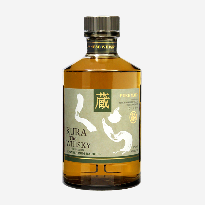 Helios Distillery's KURA The Whisky Rum Cask Finish