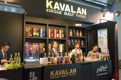 Kavalan is the first booth you saw when entering the venue
